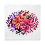 Flower Garden Queen Duvet