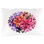 Flower Garden Pillow Case