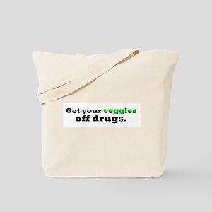 Organic Veggies Tote Bag