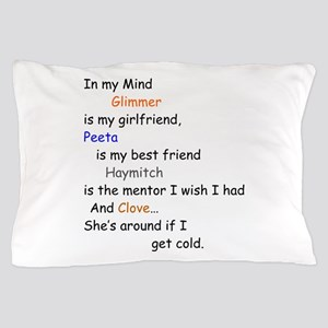 Glimmer GF/Peeta BF/Clove Cd 1 Pillow Case