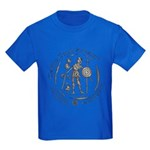 Celtic Chieftain Coin Kids Dark T-Shirt