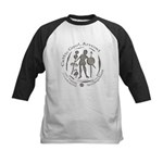 Celtic Chieftain Coin Kids Baseball Jersey