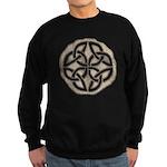 Celtic Knotwork Coin Sweatshirt (dark)