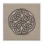 Celtic Knotwork Coin Tile Coaster