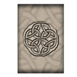 Celtic Knotwork Coin Postcards (Package of 8)