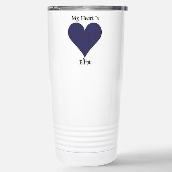 Heart - Elliot Stainless Steel Travel Mug