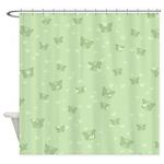 Celtic Butterflies Shower Curtain