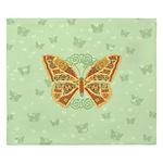 Celtic Butterfly King Duvet Cover
