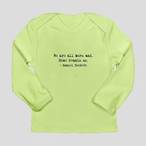 Beckett quote Long Sleeve Infant T-Shirt