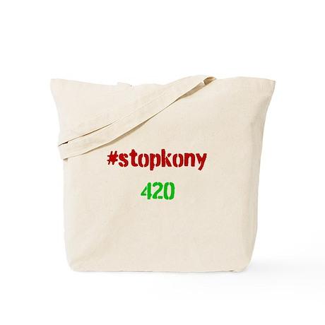 #stopkony 420 Tote Bag