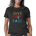 Give Pray Fast Women's Classic T-Shirt