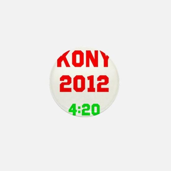 Kony 2012 4:20 Mini Button