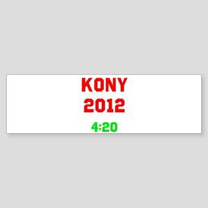 Kony 2012 4:20 Sticker (Bumper)