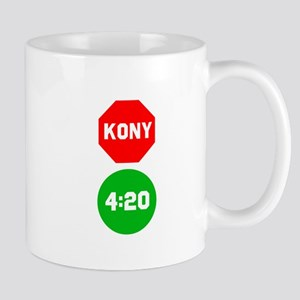 Stop Sign Kony Go 420 Mug