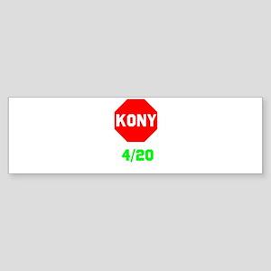 Stop Kony 420 Sticker (Bumper)