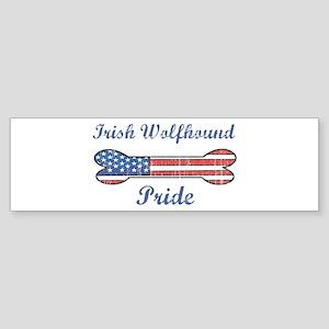 Irish Wolfhound Pride Bumper Sticker