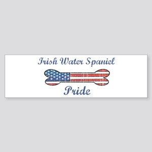Irish Water Spaniel Pride Bumper Sticker