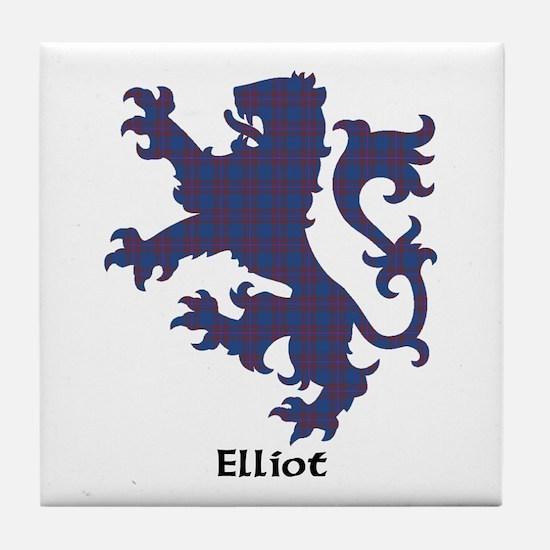 Lion - Elliot Tile Coaster