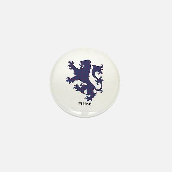 Lion - Elliot Mini Button