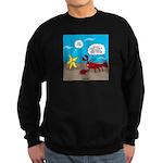 Star and Lobster Bragging Sweatshirt (dark)