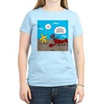 Star and Lobster Bragging Women's Light T-Shirt