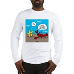 Star and Lobster Bragging Long Sleeve T-Shirt