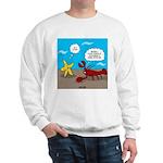 Star and Lobster Bragging Sweatshirt