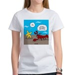 Star and Lobster Bragging Women's T-Shirt