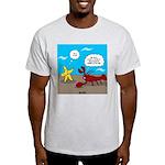 Star and Lobster Bragging Light T-Shirt
