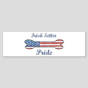 Irish Setter Pride Bumper Sticker