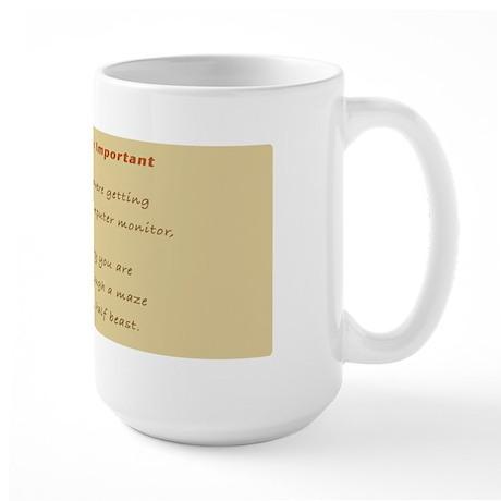 Spelling Is Important Large Mug
