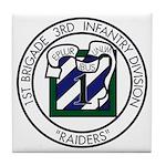 3ID - 1st Brigade Tile Coaster