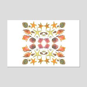 Seashells Mini Poster Print