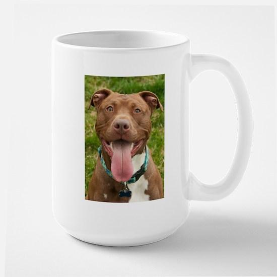 Pit Bull 13 Large Mug