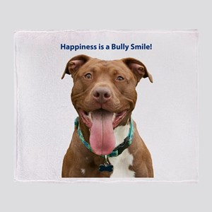 Pit Bull 14 Throw Blanket