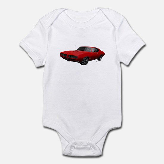 1968 GTO Solar Red Infant Bodysuit