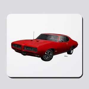 1968 GTO Solar Red Mousepad