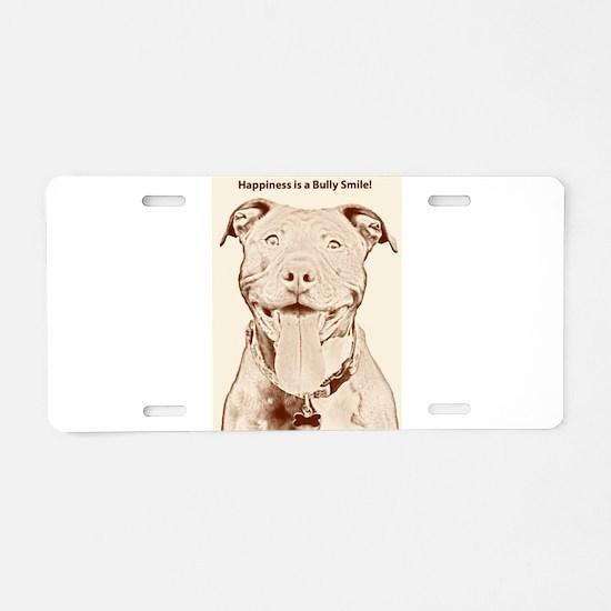 Pit Bull 15 Aluminum License Plate