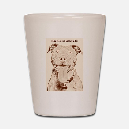 Pit Bull 15 Shot Glass