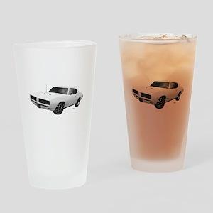 1968 GTO Cameo Ivory Drinking Glass