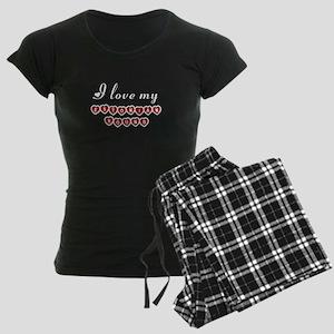 I love my Estonian Hound Women's Dark Pajamas