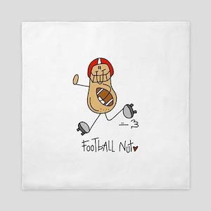 Football Nut Queen Duvet