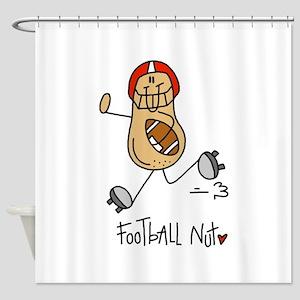 Football Nut Shower Curtain
