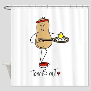 Tennis Nut Shower Curtain