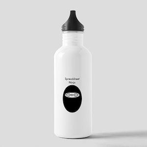 Spreadsheet Stainless Water Bottle 1.0L