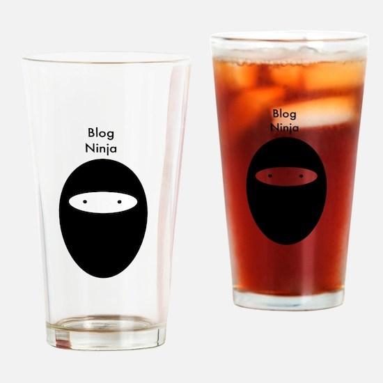 Blog Ninja Drinking Glass