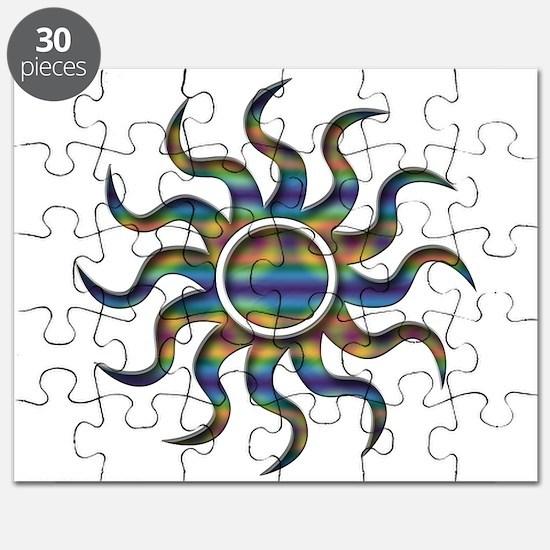 Sun Tye Dye Puzzle