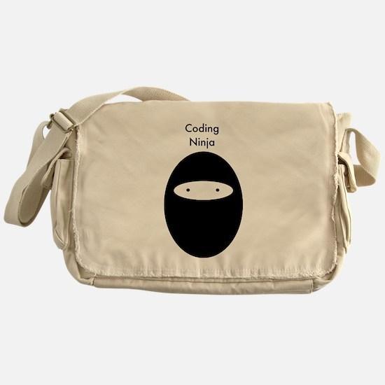 Code Ninja B Messenger Bag