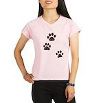 Pet Paw Prints Performance Dry T-Shirt
