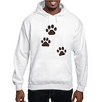 Pet Paw Prints Hooded Sweatshirt